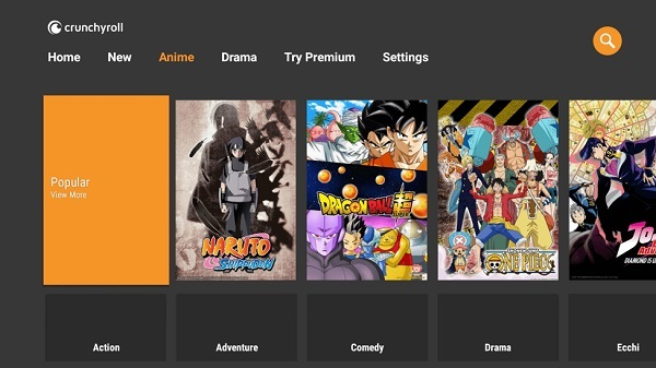 crunchyroll premium for android